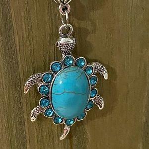 Turtle Tortoise Southwestern Style Necklace